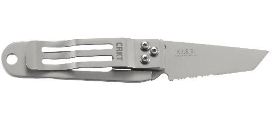 K.I.S.S.® WITH TRIPLE POINT™ SERRATIONS
