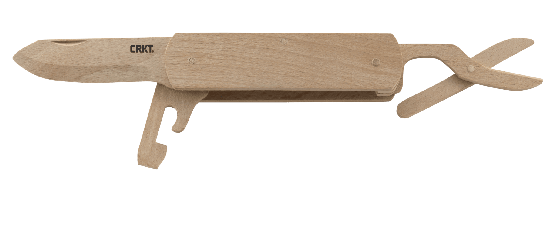 WOODEN FOLDING KNIFE KIT