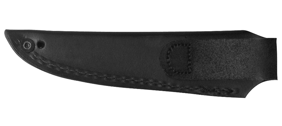 MOSSBACK™ BIRD AND TROUT LEATHER SHEATH