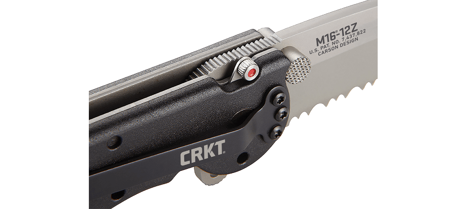 M16® - 12Z TANTO WITH TRIPLE POINT™ SERRATIONS