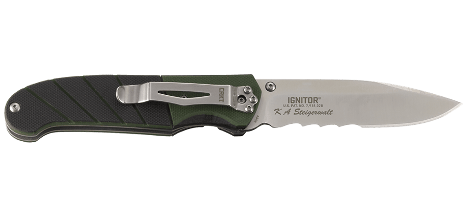 IGNITOR® WITH VEFF SERRATIONS™