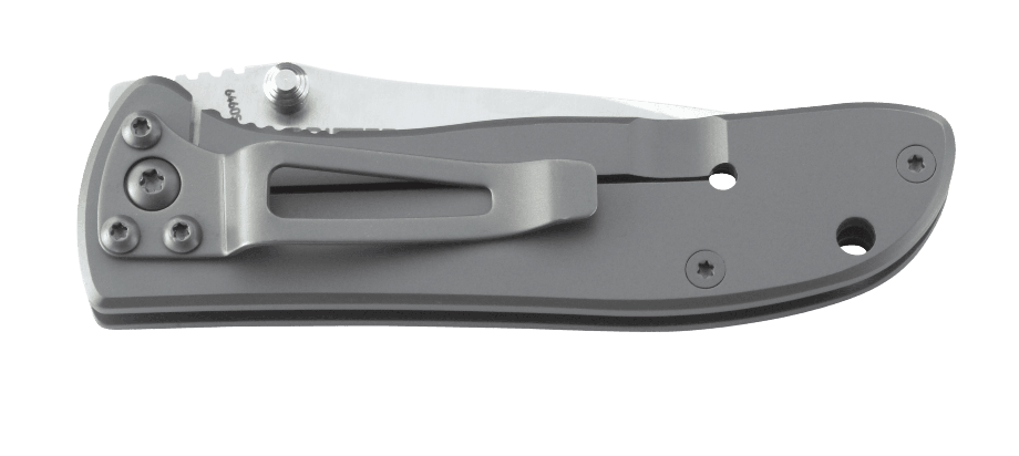 DRIFTER STAINLESS STEEL HANDLE WITH TRIPLE POINT™ SERRATIONS
